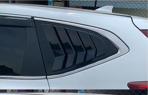 Image 2 - For Honda CR V CRV 2017 2018 2019 Rear Fender Side Window Blind shades Louver Frame Window Sill Molding Cover Sticker Trim