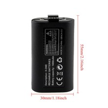 1400 mAh Backup Battery For XBox One Rechargeable Gamepad Battery With Charge Cable High Quality