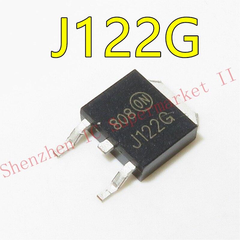 NEW MJD122G MJD122T4G J122G TIP122 SOT-252 in stock