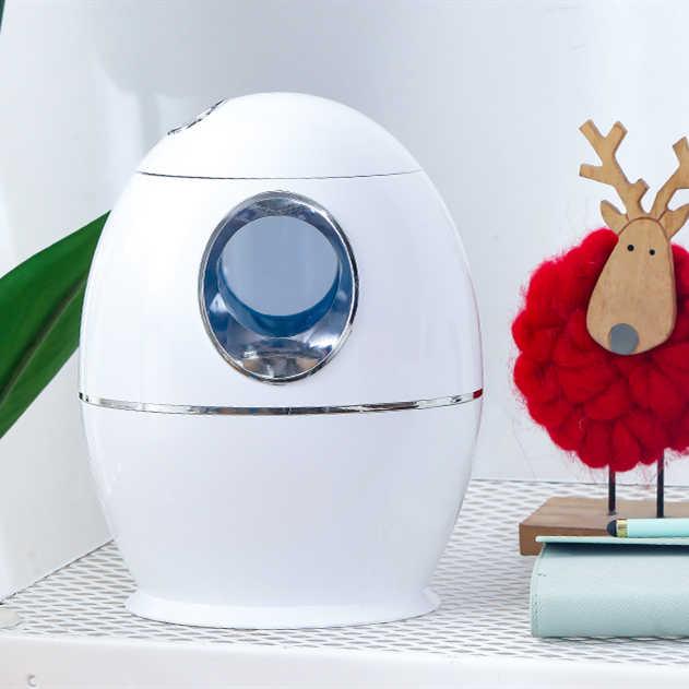 USB увлажнитель 800 мл Портативный ультразвуковой увлажнитель воздуха для дома и офиса 7 цветов светильник тумана распылитель для ароматерапии