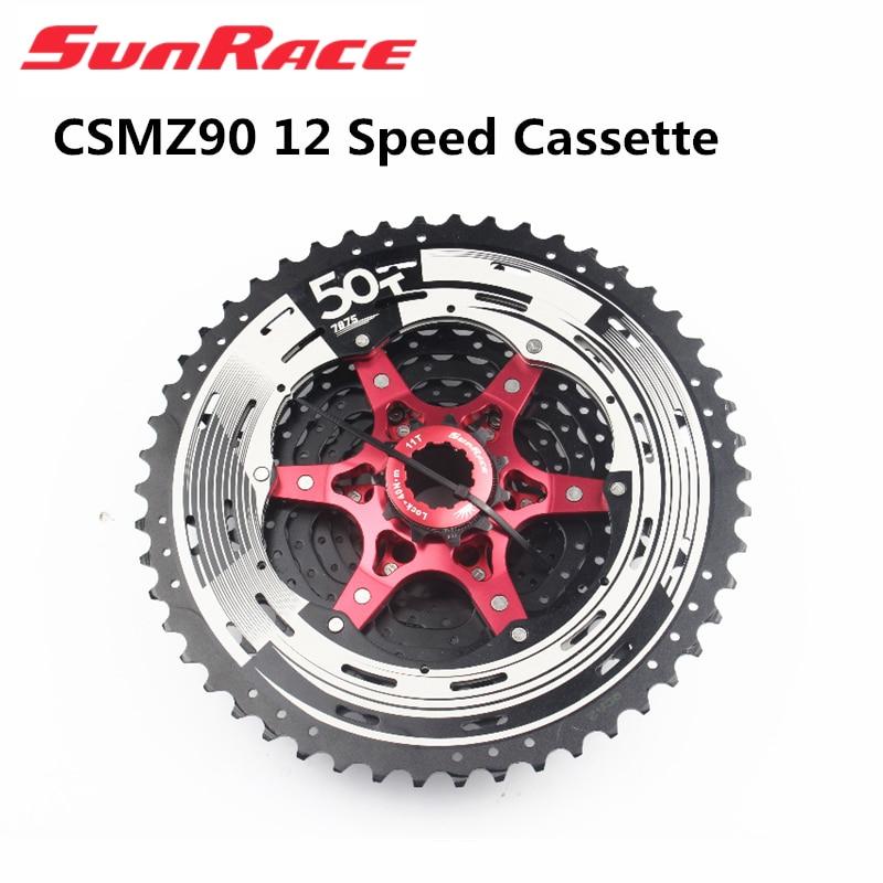 Горный велосипед sunгоночный CSMZ90 CSMX9X CSMZ91X, широкий диапазон скоростей, 12 Скоростей, кассета 11 50T 11 46T, черный, серебристый, красный