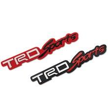 1 шт 3d металлические Автомобильные Наклейки trd логотип значок