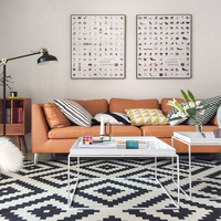 White And Black Carpets For Living Room Polyester Area Rugs Home Carpet Floor Door Mat Bedroom Rugs For Living Room Delicate Mat