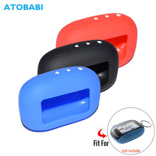 3 цвета B94 брелок силиконовый чехол для Starline B95 B94 B92 B64 B62 пульт дистанционного управления ключ передатчик внешняя оболочка кожный чехол