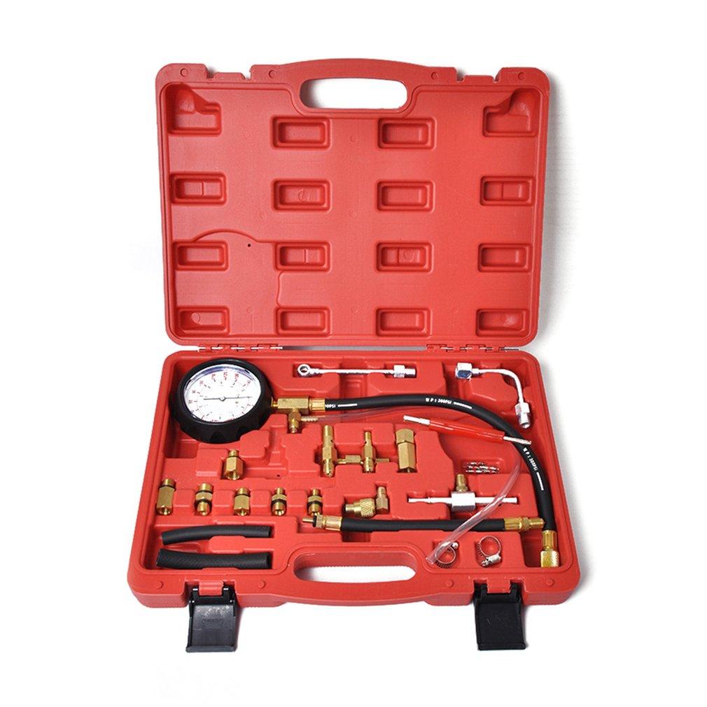 TU-114 Fuel Injector Injection Pump Pressure Tester Gauge Kit Manometer Auto Diagnostics Tools For Automotive Repair