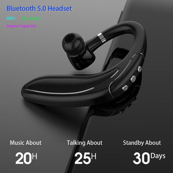 cSunBei Wireless Headphones Car Drive Bluetooth Earphone Super Standby Headsets with Mic Handsfree Sport Earbuds pk I12 tws pro image