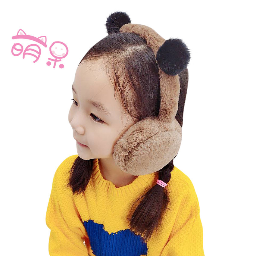 Autumn And Winter Children Earmuffs, Earmuffs, Winter Plush Earrings, Boys, Girls, Children, Warm Earcovers, Cute Baby Earcovers