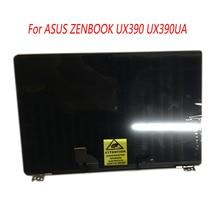 12.5 cal laptopa kompletny ekran LCD Panel z ramą górna połowa pełny montaż dla ASUS ZENBOOK 3 UX390 UX390UA UX390UAK