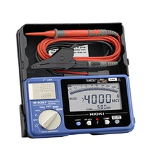 HIOKI IR4057-20 5-Range 50 to 1000V Digital Insulation Resistance Tester Reading Stability in High-speed Digital Format aim01 50 1000v digital insulation tester