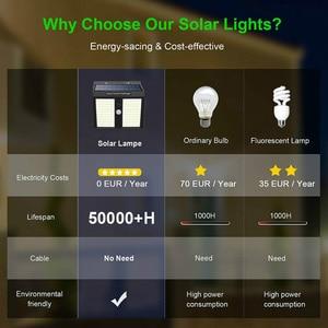 100/146/ 250 LED Solar Security Lights Motion Sensor Solar Wall Lamp for Outdoor Garden Path Decoration Waterproof Street Light