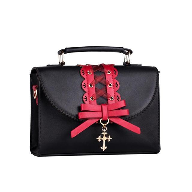Фото harajuku jk милая сумка лолита винтажная кружевная кавайная цена