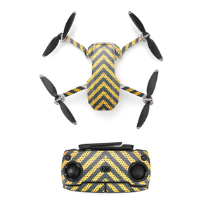 Image 5 - עמיד למים דקורטיבי מדבקת מדבקות עור לעטוף כיסוי ערכת DJI Mavic מיני Drone אביזרי חלקים