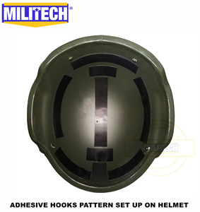 Image 3 - MILITECH Stack Built Advanced Impact Liner Padding System For Flux / FAST / MICH / OPS Core / ACH / MTEK /PASGT Ballistic Helmet
