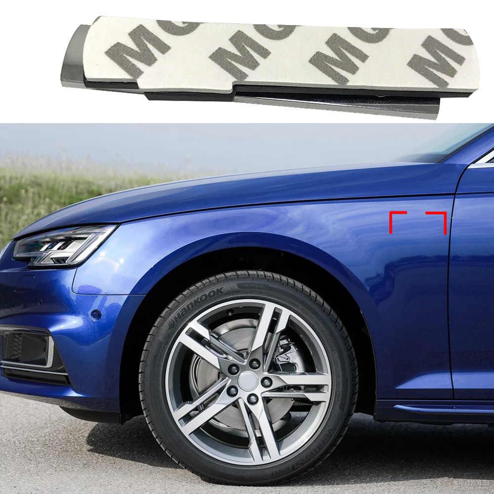 1-50 par para sline emblema lado fender 3d logotipo adesivo para audi q3 q5 q6 q7 allroad a4 a5 a6 a7 a8 b6 b7 b8 tt tts carro tuning