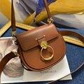 Брендовая дизайнерская сумка через плечо, роскошная женская сумка на 2 ремешках, модная сумка на плечо, винтажная стильная сумка, женская су...