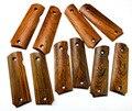 TOtrait 1 пара натуральный Кокоболо деревянные Нескользящие пластыри DIY метарные ручные весы для 1911 моделей ручек