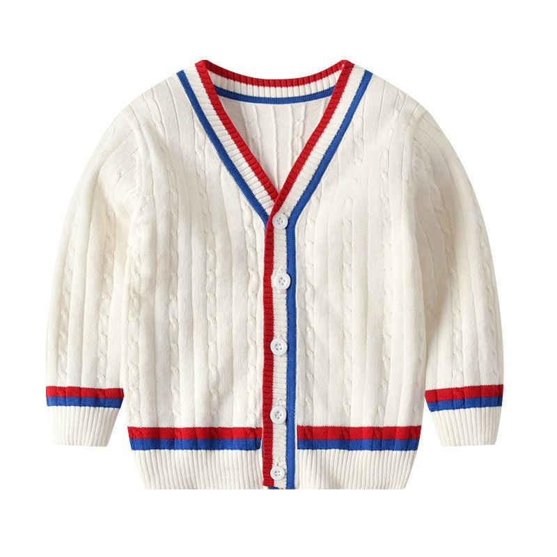2019 crianças crianças outono bebê meninas meninos suéteres inverno de malha bebê meninas com nervuras camisola crianças roupas meninas pulôver