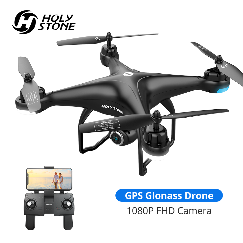 Holy Stone HS120D GPS Drone FPV 1080p HD Camera Profissional Wifi RC Drones Selfie Follow Me GPS Glonass Quadcopter|RC Helicopters| - AliExpress