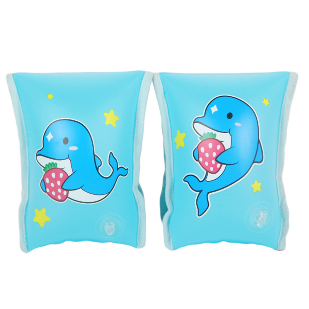 2pcs Baby Swimming Arm Ring Inflatable Pool Float Circle for Water Party Inflatable Circle Pool Float Swim Training
