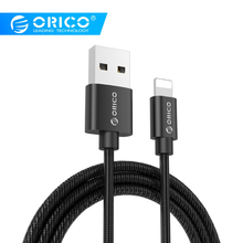 ORICO USB Cable TYPE-A to Lighting Data Sync Charger Adapter for iPhone iPad iPod Mobile Phone Nylon Cables