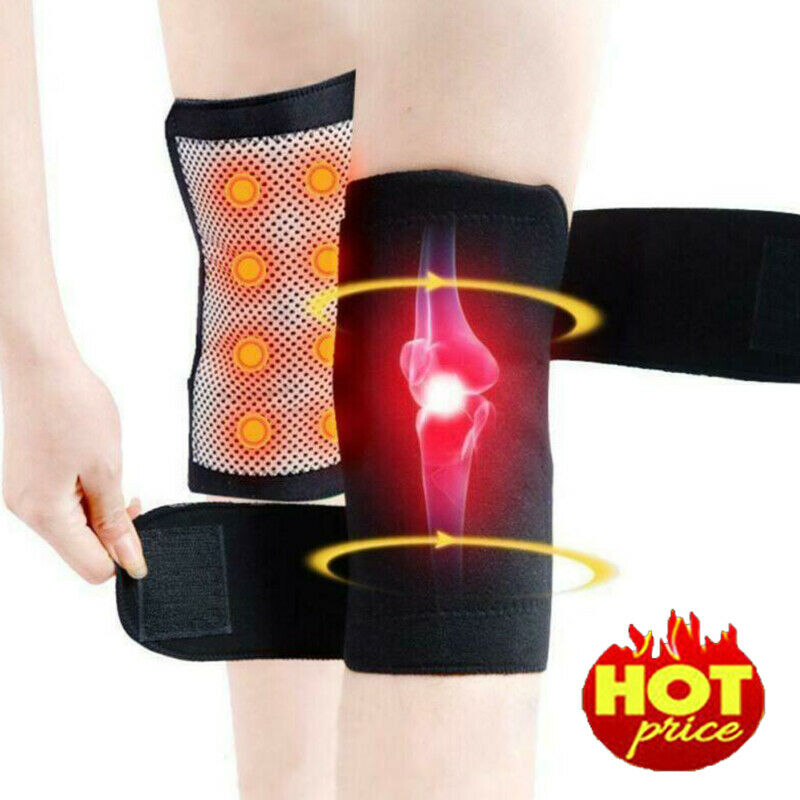 Unisex Self Heating Knee Pad Magnetic Thermal Therapy Arthritus Support Brace Protector Heat And Magnet Knee Brace