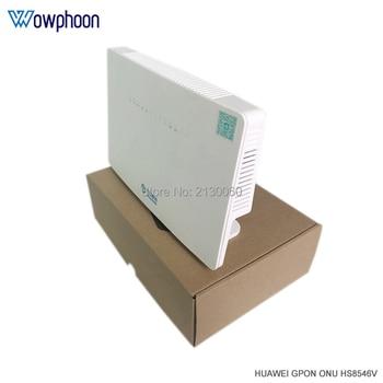 100% New HS8546V GPON ONU ONT HGU Dual Band Router 4GE+Wifi2.4GHz&5GHz Same Function as HS8546V2 HG8245U HG8245Q2 GPON ONU ONT