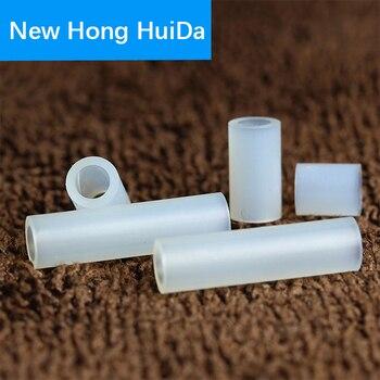 цена на M2.8 M3.2 M4.2 M5.2 White Nylon Plastic Rround Metric Spacer PCB Hollow Standoff White NonThreaded Board