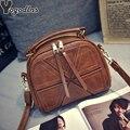 Винтажная дамская сумочка из искусственной кожи, модный Ракушечный мессенджер для девушек, женская сумка на плечо, Женский саквояж через плечо, кошельки - фото