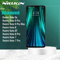 Nillkin 9H seguridad Protector de pantalla de vidrio para Xiaomi Redmi Nota 9s 9 Pro Max Nota 8T 8 7 Pro Note9 Note8 Note7 Pro de vidrio templado