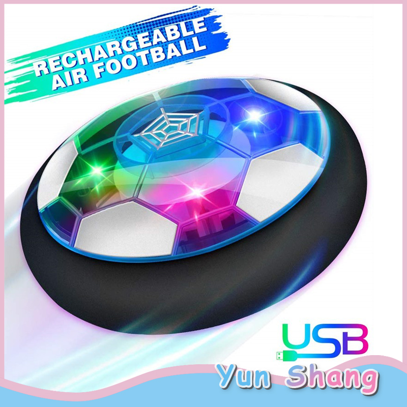 USB Charging Suspension Football Air Power Football Toys Hover Soccer Toy Play Indoor/Outdoor Games Internal Electric Universal