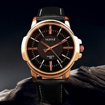 Rose Gold Men's Wrist Watch