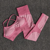 Red - 11 colors seamless yoga suit