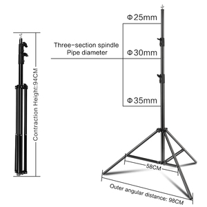 Image 5 - Photography 3*4M Background Backdrop Stand Support System Kit for Photo Studio with 3 Pcs White Black Green Muslin Backdrops