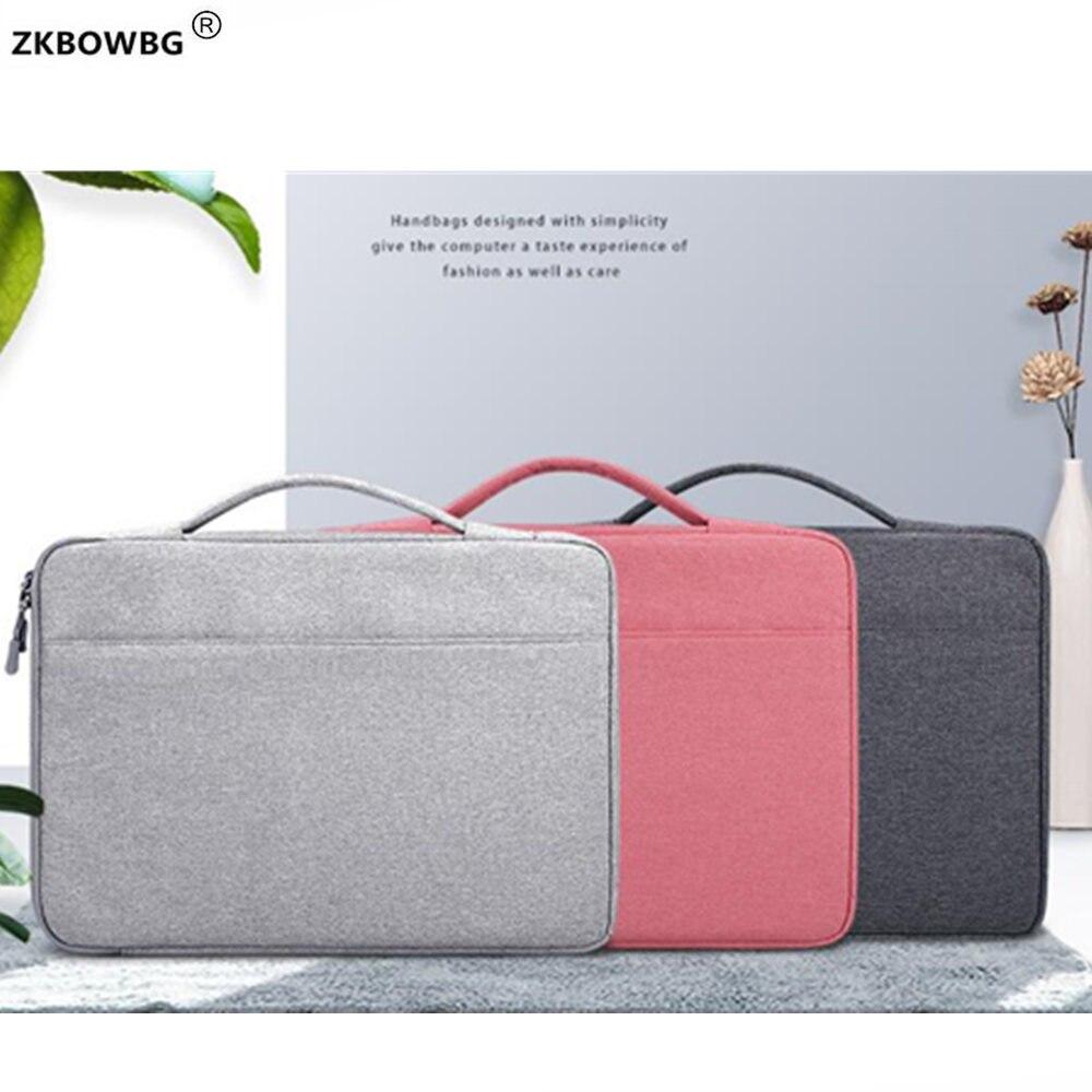 Briefcase Bags Waterproof Women Men Laptop Bag For Lenovo Ideapad 320 330 520 15.6 330s 14 530s S540 S340 15 Inch Laptop HandBag
