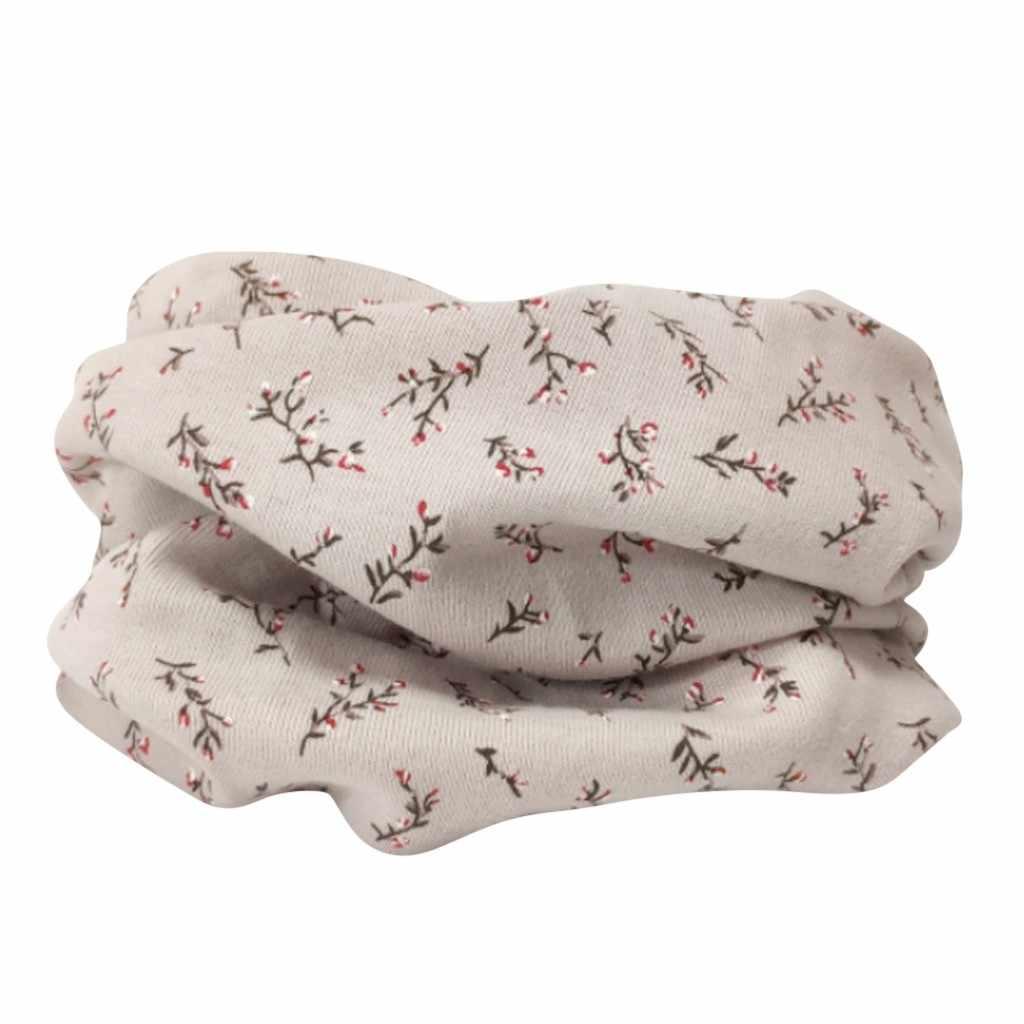 חום פונצ 'ו נמר נשים חורף שמיכת צעיף חם רך לעטוף בני בנות קריקטורה הדפסת תינוק צעיף כותנה טבעת צוואר צעיפים # N11