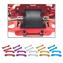 4pcs Upgrade Metal Reinforced Swing Arm RC Car Model Replace Set for 1:14 Wltoys 144001 Accessories Parts