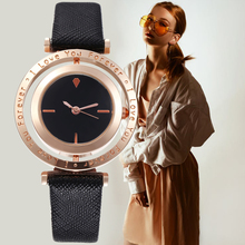 2020 Fashion Spin Luxury Brand Casual Leather Quartz Wristwatch Ladies Dress Watch Women Watches Relogio Feminino Montre Femme kevin fashion women red watch student quartz analog watches leather wristwatch elegant vintage casual crystal montre femme hour