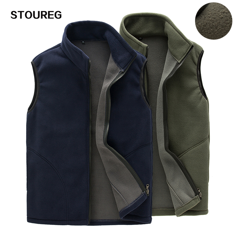 Vest Jackets Trekking Softshell Fleece Fishing Outdoor Warm Climbing Sleeveless Male title=