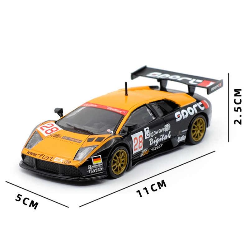 1/43 Alaşım Z4M 320si MC12 MURCIELAGO yarış arabaları Oyuncak Koleksiyonu Diecast Metal Model Spor oyuncak arabalar Çocuklar Için