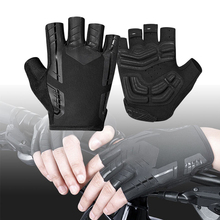 Cycling Half Finger Short Gloves Shockproof Breathable MTB Bike Gloves Gycling Gloves Half-finger Gloves rockbros cycling bike half finger gloves shockproof breathable mtb mountain bicycle gloves men women sports cycling clothings