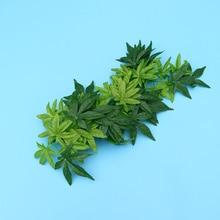 Terrarium Simulation-Plants Habitat-Decoration Reptile And with Leaves Rattan 12inch