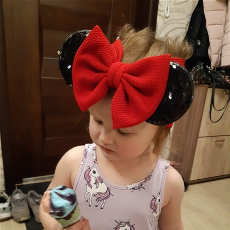 Disney Mickey Minnie Mouse Baby Girl Headband Newborn Toddler Girls Headbands
