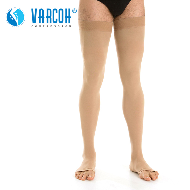 Compression Stockings Men Women,Open Toe,20 30 mmHg Graduated Support Socks DVT,Maternity,Pregnancy,Varicose Veins,Shin Splints