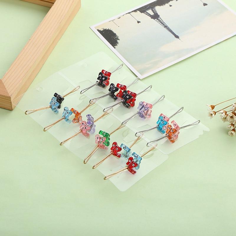 Image 4 - 12 peças embaladas vendas muçulmanas senhoras cachecol clipe  poderoso cachecol fivela colar fivela acessórios femininosBroches   -