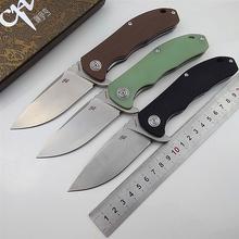 Warto! CH składany nóż D2 ostrze CH3504 kieszonkowe taktyczne camping survivalowe noże myśliwskie flipper G10 uchwyt owoców prezent EDC noże tanie tanio Maszyny do obróbki drewna Folding Blade Knife CH3504G10 d2 knife pocket knife folding knife tactical knife survival knife