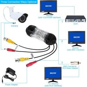 Image 4 - Видеокабель ESCAM для системы видеонаблюдения, 10 60 м