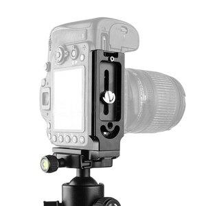 Image 4 - חם 3C 5 חבילת 1/4inch שחרור מהיר צלחת הרכבה בורג d טבעת D פיר QR בורג מתאם הר עבור DSLR מצלמה חצובה חדרגל QR