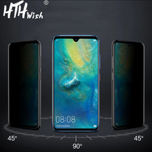 Anti-peeping tempered glass privacy for Huawei Mate 10 20 lite screen protector crystal pro