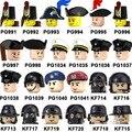 Navyed рисунок один ЛОЯЛЬНЫЕ Imperial солдатика головы Уход за кожей лица Militaryed, строительные блоки, кирпич развивающие игрушки PG991