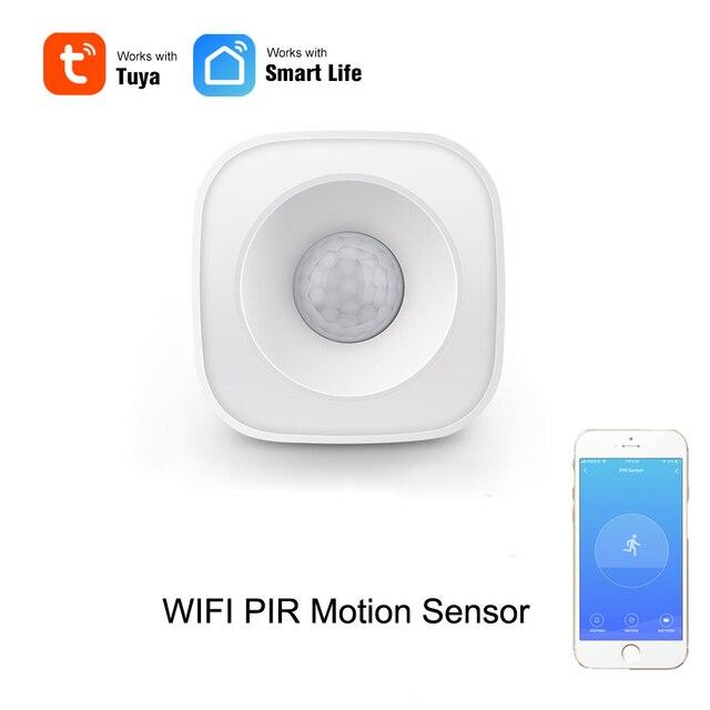 WIFI PIR Motion Sensor Wireless Infrared Detector Security Burglar Alarm Sensor Tuya APP Control  Smart Home
